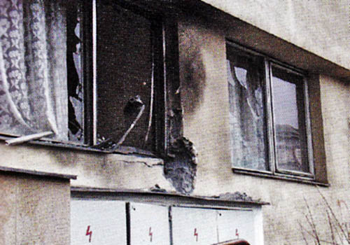 Výbuchy v Přerově: 1.12.1999