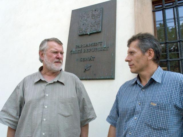 se senátorem Štětinou