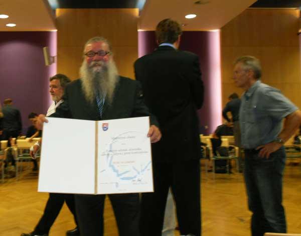 Ocenění účastníka 3. odboje pro Petra Hladkého