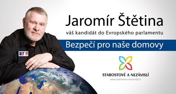 Moje podpora pro Jaromíra Štětinu