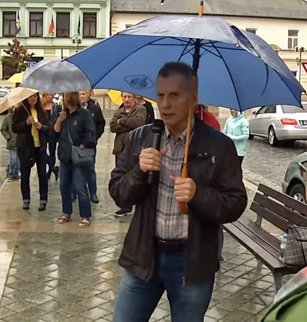 Můj projev na demonstraci za nezávislost justice v Přerově 28.května 2019
